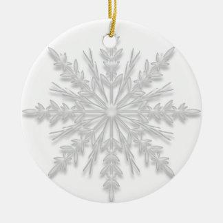 Copo de nieve usted será mi ornamento de la dama d ornato