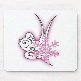 Copo de nieve y diseño del navidad del chirrido - alfombrillas de ratones