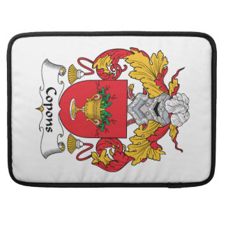 Copons Family Crest Sleeve For MacBook Pro