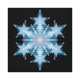Copos de nieve 2012 - 1 lona envuelta para galerías