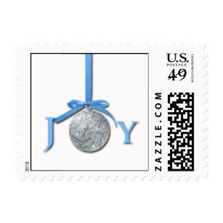 Copos de nieve azules claros con el ornamento de sellos
