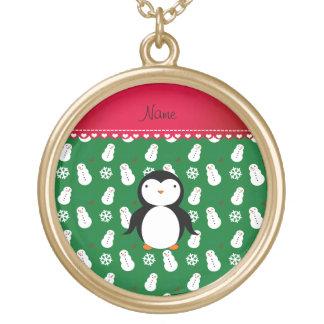 Copos de nieve conocidos personalizados de los joyeria personalizada