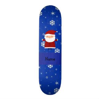 """Copos de nieve conocidos personalizados del azul patineta 7 1/4"""""""