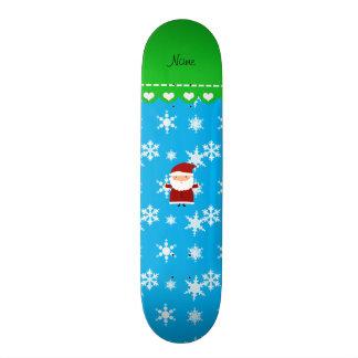 Copos de nieve conocidos personalizados del azul skateboards