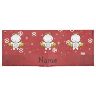 Copos de nieve conocidos personalizados del rojo billeteras tyvek®