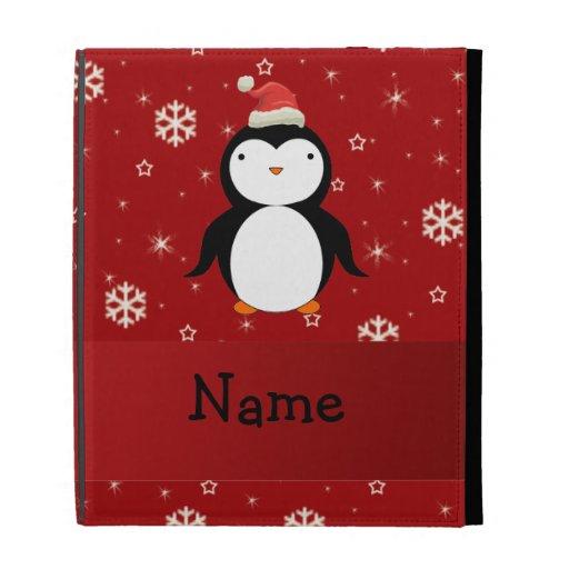 Copos de nieve conocidos personalizados del rojo d