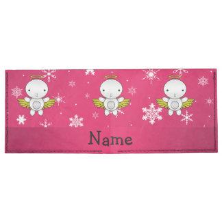 Copos de nieve conocidos personalizados del rosa billeteras tyvek®