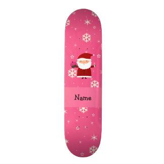 Copos de nieve conocidos personalizados del rosa patin