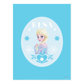 Copos de nieve de Elsa el | Postales