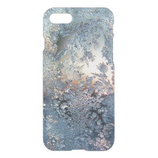 Copos de nieve de la helada del invierno bling funda para iPhone 7