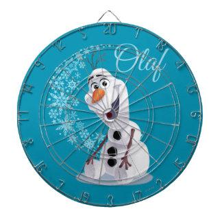 Copos de nieve de Olaf Tablero Dardos