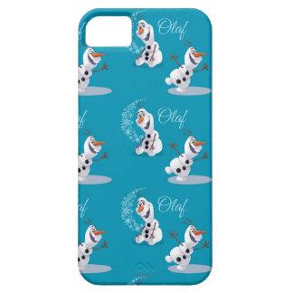 Copos de nieve de Olaf iPhone 5 Coberturas