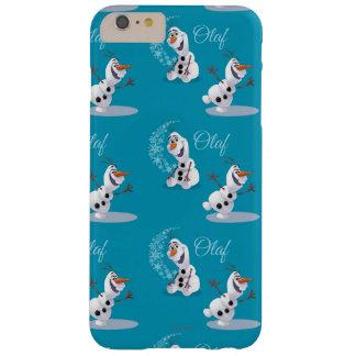 Copos de nieve de Olaf Funda Para iPhone 6 Plus Barely There
