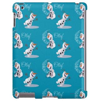 Copos de nieve de Olaf Funda Para iPad