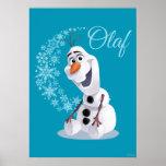 Copos de nieve de Olaf Impresiones
