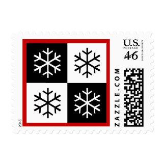 Copos de nieve del arte pop
