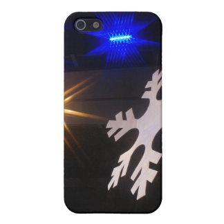 Copos de nieve del baile iPhone 5 protectores