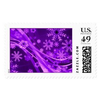 Copos de nieve del país de las maravillas del sellos