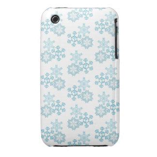 Copos de nieve iPhone 3 funda