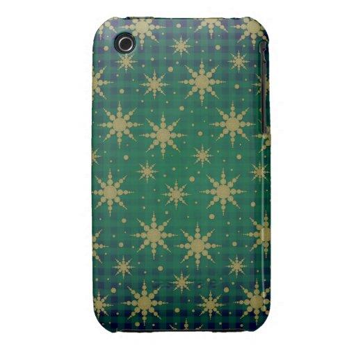 Copos de nieve iPhone 3 Case-Mate carcasa