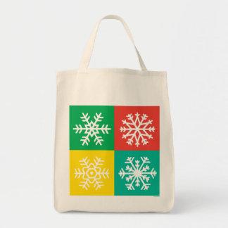 Copos de nieve - joyas - bolso bolsa de mano
