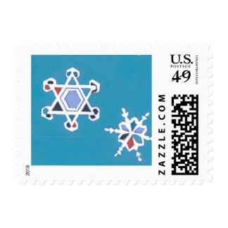Copos de nieve judíos de la estrella envio