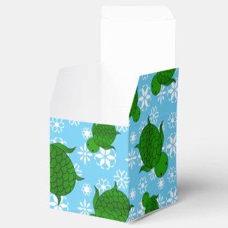 Copos de nieve lindos del azul del navidad de la caja para regalos de fiestas