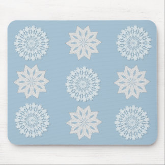 Copos de nieve Mousepad