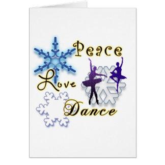 Copos de nieve No-Confesionales del amor y de la Tarjeta De Felicitación