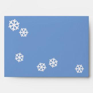copos de nieve para el navidad sobre