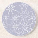 Copos de nieve posavasos manualidades
