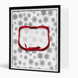 """Copos de nieve resumidos con la etiqueta roja de carpeta 1"""""""