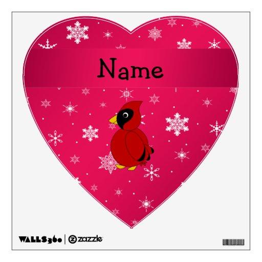 Copos de nieve rosados cardinales conocidos person
