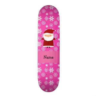"""Copos de nieve rosados conocidos personalizados de patineta 7 3/4"""""""