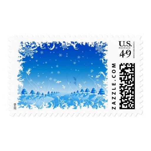 Copos de nieve sellos