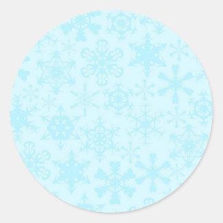 Copos de nieve pegatina