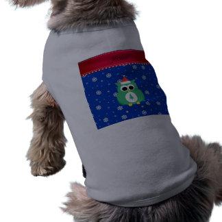 Copos de nieve verdes conocidos personalizados del camisas de perritos