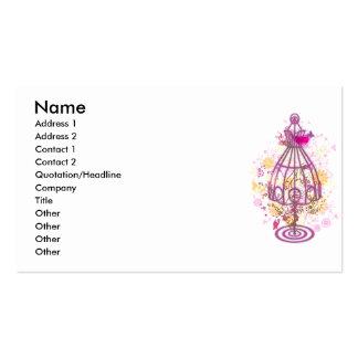 Coppelia Business Card Template