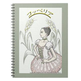 Coppélia kotsuperia spiral notebook