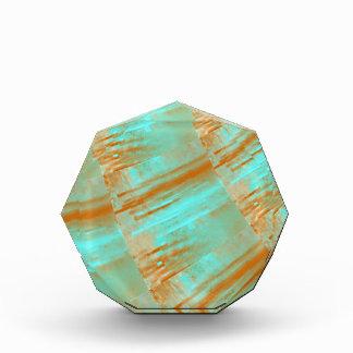 Copper and Aqua Curves Design Award