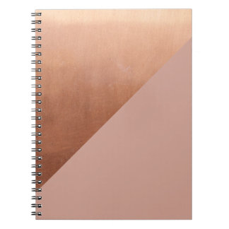 Copper and Blush Notebook