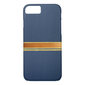 Copper and Gold Banded iPhone 7 Case