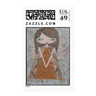 """Copper Angel"" 49 Cent Denomination US Stamps! Postage"