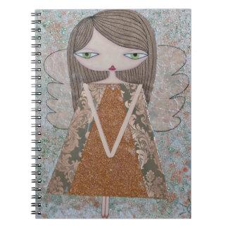 """""""Copper Angel"""" Spiral-Bound, 80-Page Notebook! Notebook"""