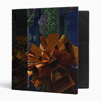 Copper Artifact in the Ruins 3 Ring Binder