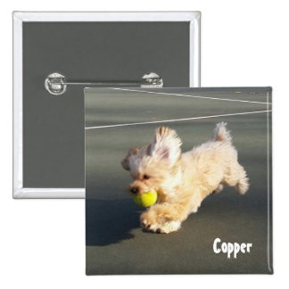 Copper at Tennis Court Button