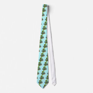 Copper-Banded Butterfly Fish Neck Tie