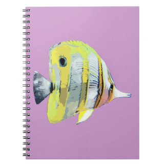 Copper-banded Butterfly Fish Notebooks