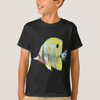 Copper-banded Butterfly Fish T-Shirt