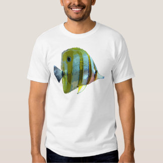 Copper-Banded Butterfly Fish Tees